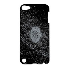 Space X Circle Line Black Apple Ipod Touch 5 Hardshell Case by Mariart