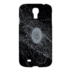 Space X Circle Line Black Samsung Galaxy S4 I9500/i9505 Hardshell Case by Mariart