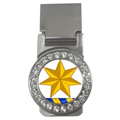 Star Yellow Blue Money Clips (cz)  by Mariart