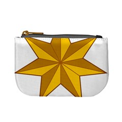Star Yellow Blue Mini Coin Purses by Mariart