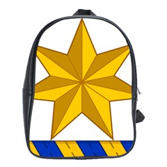 Star Yellow Blue School Bags(large)