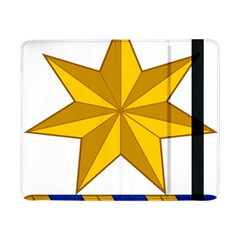Star Yellow Blue Samsung Galaxy Tab Pro 8 4  Flip Case by Mariart