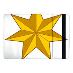 Star Yellow Blue Samsung Galaxy Tab Pro 10 1  Flip Case by Mariart