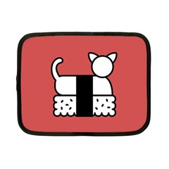 Sushi Cat Japanese Food Netbook Case (small)  by Mariart