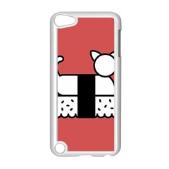 Sushi Cat Japanese Food Apple Ipod Touch 5 Case (white) by Mariart