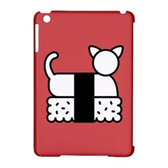 Sushi Cat Japanese Food Apple Ipad Mini Hardshell Case (compatible With Smart Cover) by Mariart