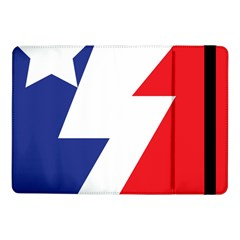 Three Colors Blue White Line Star Samsung Galaxy Tab Pro 10 1  Flip Case by Mariart