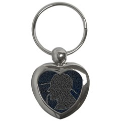 Sherlock Quotes Key Chains (heart)  by Mariart