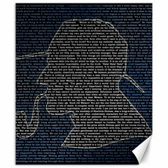 Sherlock Quotes Canvas 20  X 24