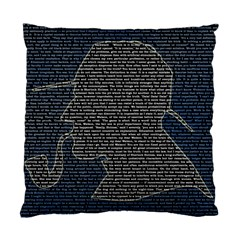 Sherlock Quotes Standard Cushion Case (two Sides) by Mariart