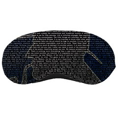 Sherlock Quotes Sleeping Masks by Mariart