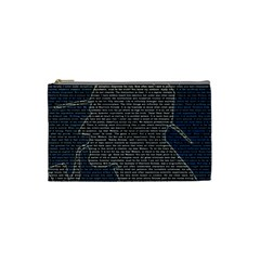 Sherlock Quotes Cosmetic Bag (small)  by Mariart