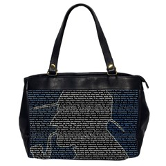 Sherlock Quotes Office Handbags (2 Sides)  by Mariart