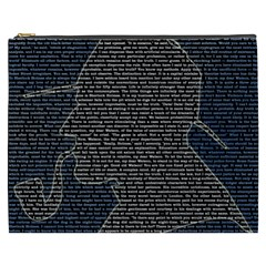Sherlock Quotes Cosmetic Bag (xxxl)  by Mariart
