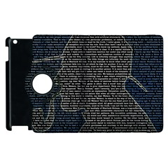 Sherlock Quotes Apple Ipad 3/4 Flip 360 Case by Mariart