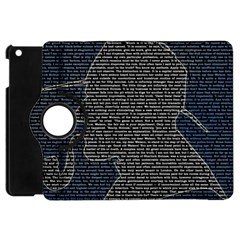 Sherlock Quotes Apple Ipad Mini Flip 360 Case by Mariart