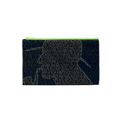 Sherlock Quotes Cosmetic Bag (xs) by Mariart