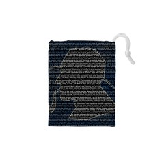 Sherlock Quotes Drawstring Pouches (xs)  by Mariart