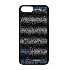 Sherlock Quotes Apple Iphone 7 Plus Seamless Case (black) by Mariart