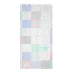 Sweet Dreams Rag Quilt Shower Curtain 36  X 72  (stall)  by Mariart