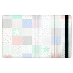 Sweet Dreams Rag Quilt Apple Ipad 2 Flip Case by Mariart