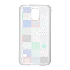 Sweet Dreams Rag Quilt Samsung Galaxy S5 Case (white) by Mariart