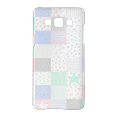 Sweet Dreams Rag Quilt Samsung Galaxy A5 Hardshell Case  by Mariart