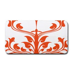 Tree Leaf Flower Orange Sexy Star Medium Bar Mats by Mariart