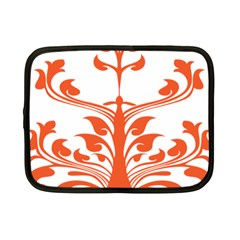 Tree Leaf Flower Orange Sexy Star Netbook Case (small)  by Mariart