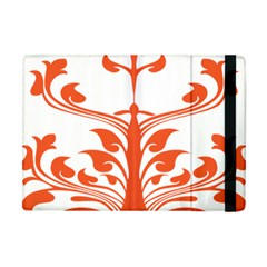 Tree Leaf Flower Orange Sexy Star Apple Ipad Mini Flip Case by Mariart