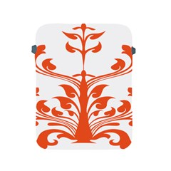 Tree Leaf Flower Orange Sexy Star Apple Ipad 2/3/4 Protective Soft Cases by Mariart