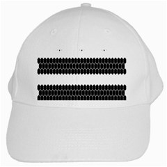 Wasp Bee Hive Black Animals White Cap by Mariart