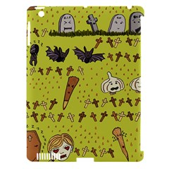 Horror Vampire Kawaii Apple Ipad 3/4 Hardshell Case (compatible With Smart Cover) by Nexatart