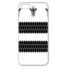 Wasp Bee Hive Black Animals Apple Seamless Iphone 5 Case (clear) by Mariart