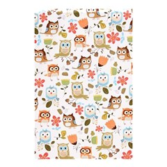 Cute Owl Shower Curtain 48  X 72  (small)