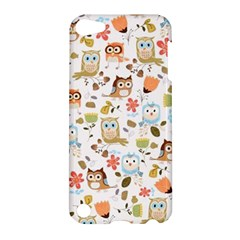 Cute Owl Apple Ipod Touch 5 Hardshell Case by Nexatart