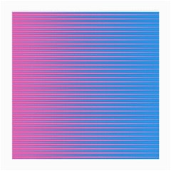 Turquoise Pink Stripe Light Blue Medium Glasses Cloth (2 Side) by Mariart