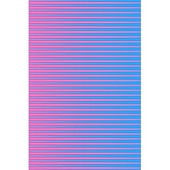 Turquoise Pink Stripe Light Blue 5 5  X 8 5  Notebooks by Mariart