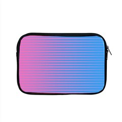 Turquoise Pink Stripe Light Blue Apple Macbook Pro 15  Zipper Case by Mariart