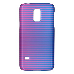 Turquoise Pink Stripe Light Blue Galaxy S5 Mini by Mariart