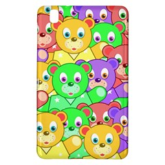 Cute Cartoon Crowd Of Colourful Kids Bears Samsung Galaxy Tab Pro 8 4 Hardshell Case