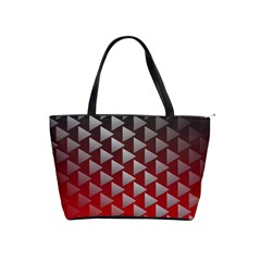 Netflix Play Button Pattern Shoulder Handbags by Nexatart