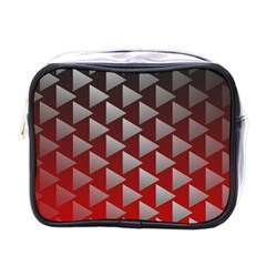 Netflix Play Button Pattern Mini Toiletries Bags by Nexatart