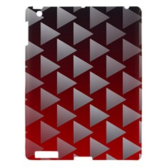 Netflix Play Button Pattern Apple Ipad 3/4 Hardshell Case