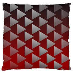 Netflix Play Button Pattern Large Cushion Case (one Side)