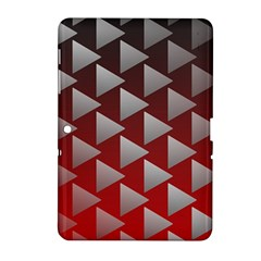 Netflix Play Button Pattern Samsung Galaxy Tab 2 (10 1 ) P5100 Hardshell Case