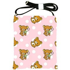 Kawaii Bear Pattern Shoulder Sling Bags by Nexatart