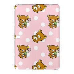 Kawaii Bear Pattern Samsung Galaxy Tab Pro 12 2 Hardshell Case by Nexatart