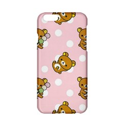 Kawaii Bear Pattern Apple Iphone 6/6s Hardshell Case by Nexatart