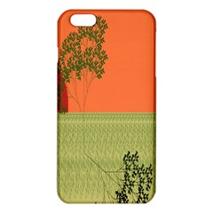 Sunset Orange Green Tree Sun Red Polka Iphone 6 Plus/6s Plus Tpu Case by Mariart